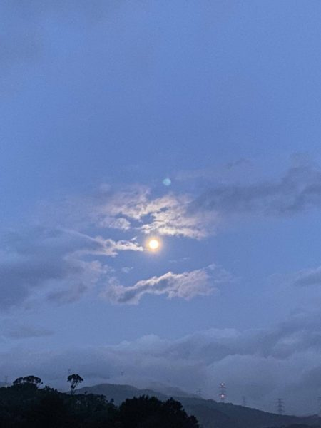 2021年9月22日明け方撮影 十五夜の満月